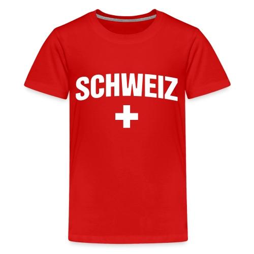 Schweiz - Suisse - Switzerland - Swiss - Teenager Premium T-Shirt