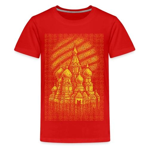 Russian Bricks - Teenage Premium T-Shirt