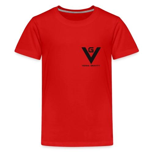 Logo venna gravity - T-shirt Premium Ado