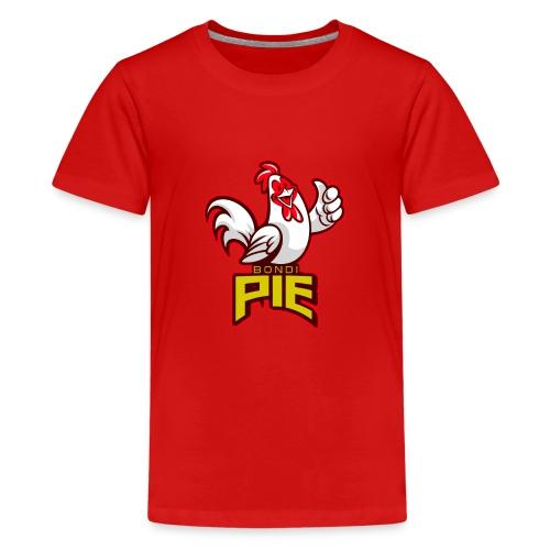 BondiPie logga - Premium-T-shirt tonåring