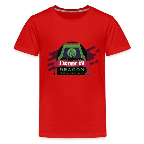 L'arcade du Dragon d'émeraude - T-shirt Premium Ado