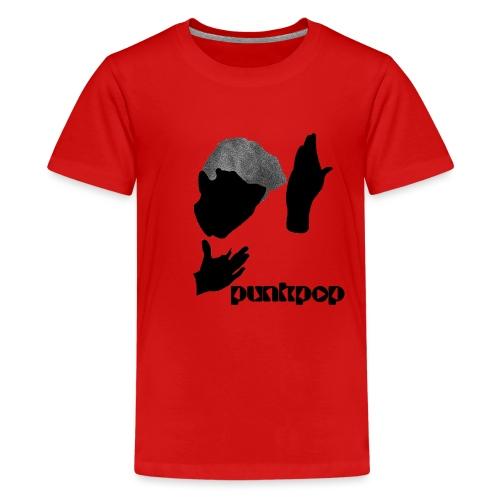 Heroes Punkpop Black - Maglietta Premium per ragazzi