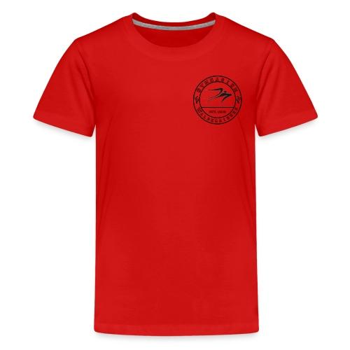 Schwarz - Teenager Premium T-Shirt