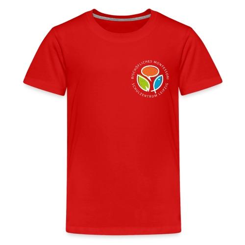 Monte Rundlogo invers - Teenager Premium T-Shirt