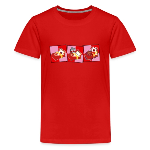 Comic Strip Sleep (Color) - T-shirt Premium Ado