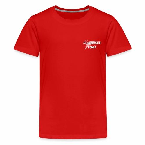 Puissance foot Freestyle - T-shirt Premium Ado