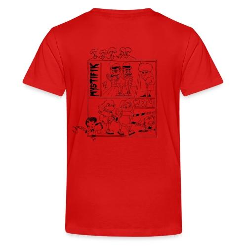 Årets t shirt med korte ærmer 2019 - Teenager premium T-shirt