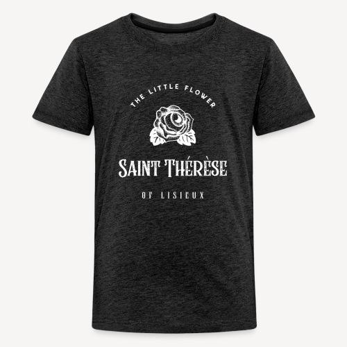Saint Thérèse of Lisieux - Teenage Premium T-Shirt