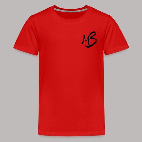 MB13 logo - Teenage Premium T-Shirt