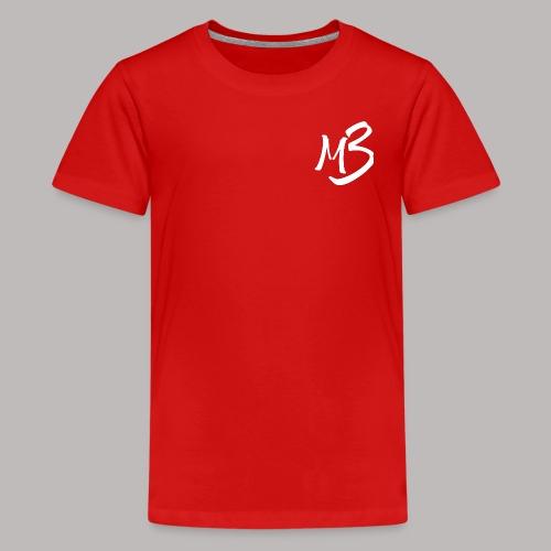 MB 13 white - Teenage Premium T-Shirt