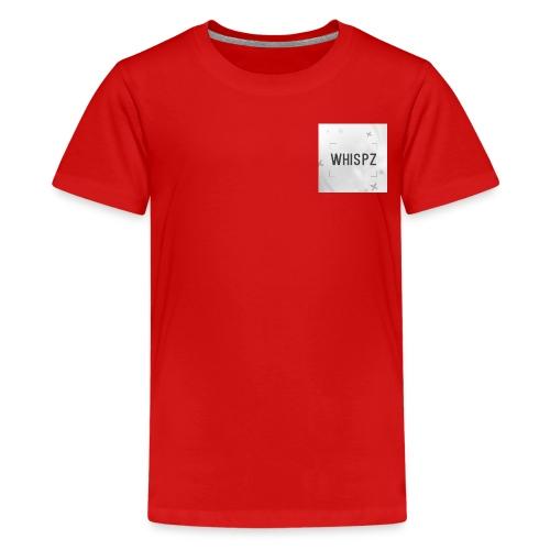 DyZe_WhispZ RED Shirt - Teenage Premium T-Shirt