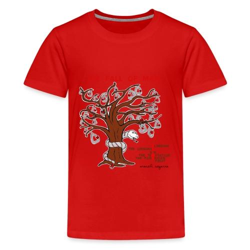 The Climbing Temptation Firma - Camiseta premium adolescente