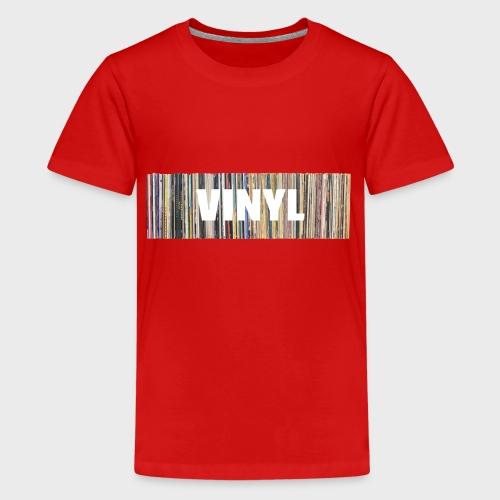 T-Record - Vinyl 'Alles op een rij' - Teenager Premium T-shirt