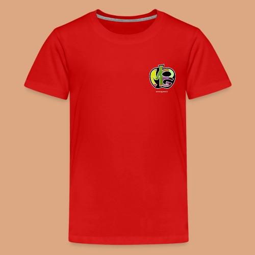 logo con sito bianca - Maglietta Premium per ragazzi