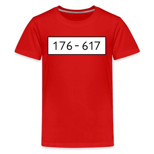Panzerknacker 6 Nummern Gruppenkostüme Fasching - Teenager Premium T-Shirt