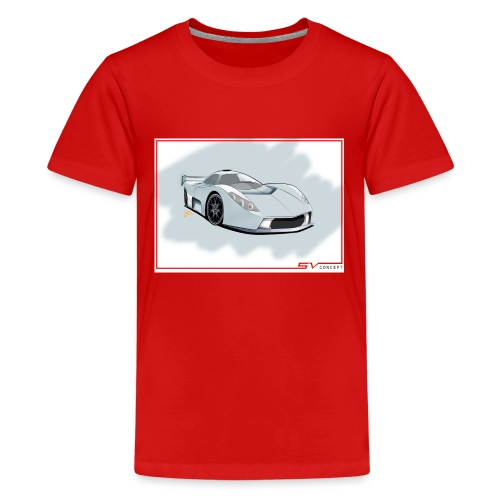 svconcept1 - Teenage Premium T-Shirt