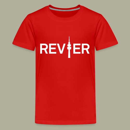 Dortmunder Revier - Teenager Premium T-Shirt