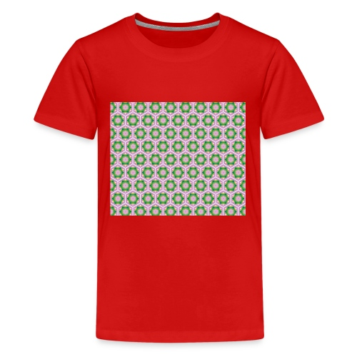 Korean Pattern - Teenager Premium T-Shirt