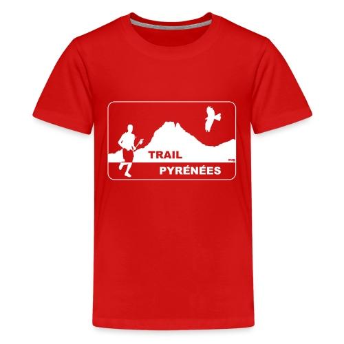 Trail Pyrénées V4 - T-shirt Premium Ado