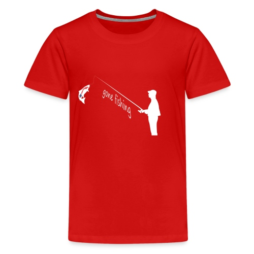 Angler - Teenager Premium T-Shirt