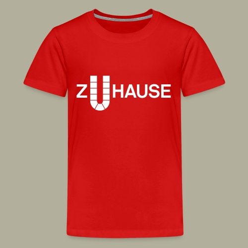 Zuhause in Dortmund - Teenager Premium T-Shirt