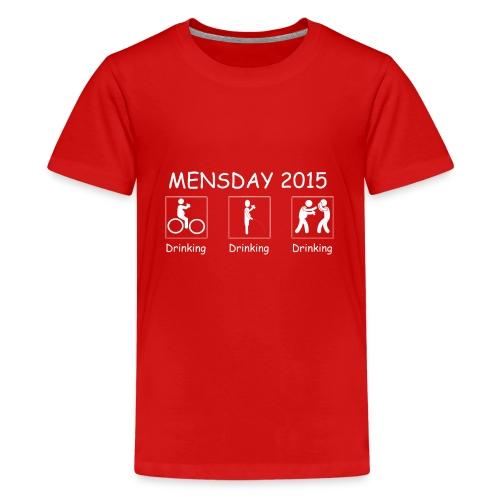 Mensday #02 - Teenager Premium T-Shirt