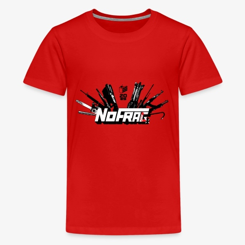 NoFrag - Spécial 20 Ans : Armurerie & Cake - T-shirt Premium Ado
