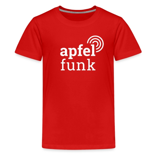 Apfelfunk Dark Edition - Teenager Premium T-Shirt