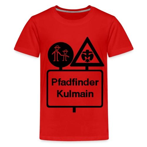 285 cm stammeslogo sw vektor - Teenager Premium T-Shirt