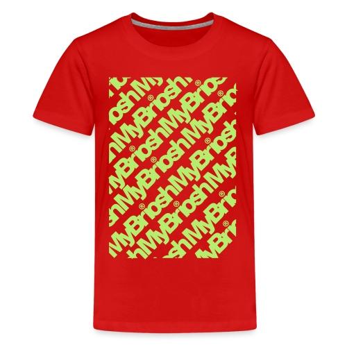 PatternMYB - Maglietta Premium per ragazzi