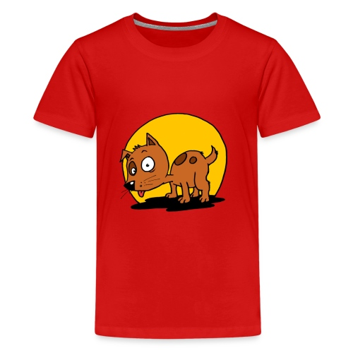 funnydog - Teenager Premium T-shirt