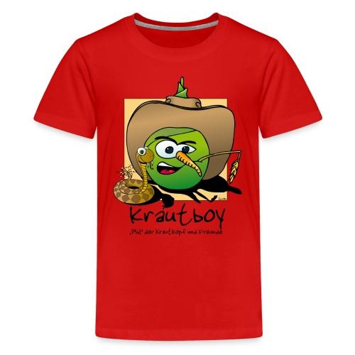 Krautboy - Teenager Premium T-Shirt