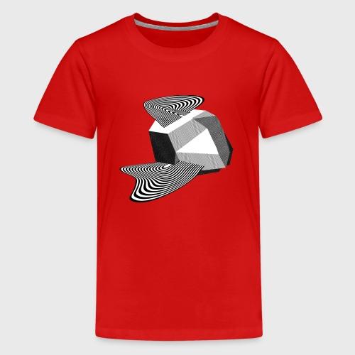 Sharp Curves - T-shirt Premium Ado