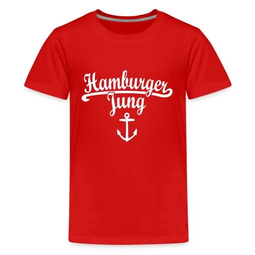 Hamburger Jung Klassik Hamburg - Teenager Premium T-Shirt