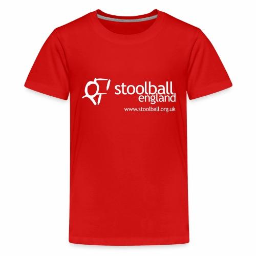 Stoolball England - Teenage Premium T-Shirt