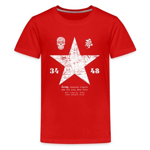 stella vintage - Maglietta Premium per ragazzi