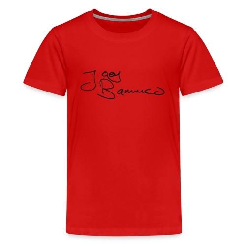 JoeyBamuco Black Signature - Teinien premium t-paita