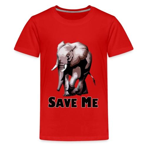 Elefant - SAVE ME - Teenager Premium T-Shirt