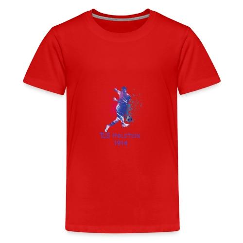 TuS Holstein Fußball - Teenager Premium T-Shirt