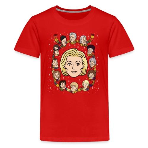 The Thirteenth Doctor - Teenage Premium T-Shirt