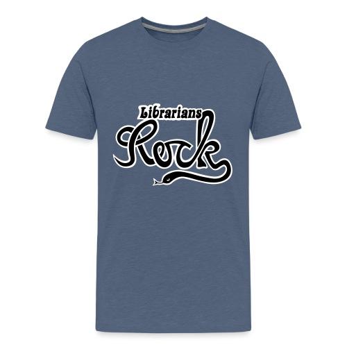 Librarians ROCK - Premium-T-shirt tonåring
