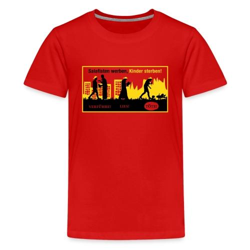 Anti-Salafisten - Teenager Premium T-Shirt