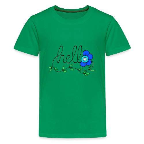 Hello Blume. - Teenager Premium T-Shirt