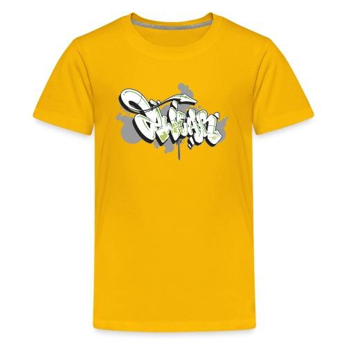 Mesk 2Wear graffiti style 7up ver02 - Teenager premium T-shirt