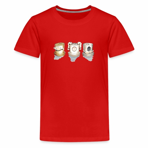 Dont Rasmus Balstrøm colors - Teenager premium T-shirt