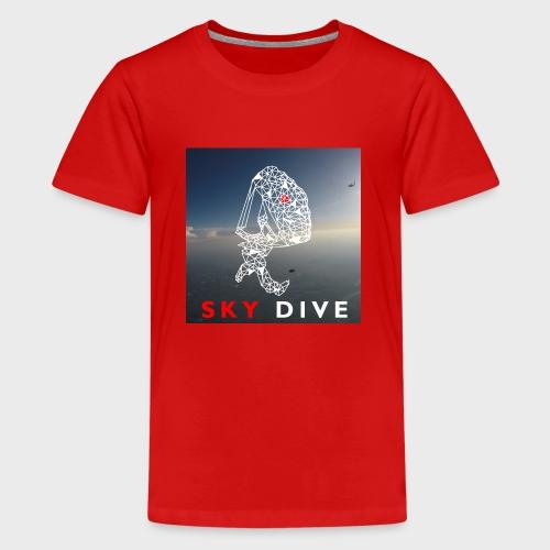Fallschirm-Triangle - Teenager Premium T-Shirt