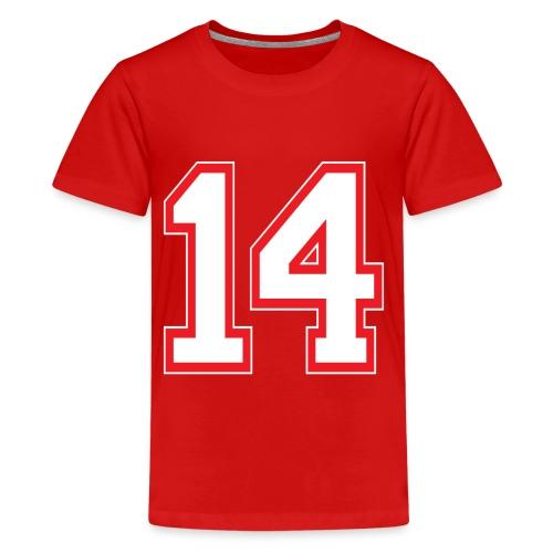 DANNIEB 14 - Maglietta Premium per ragazzi