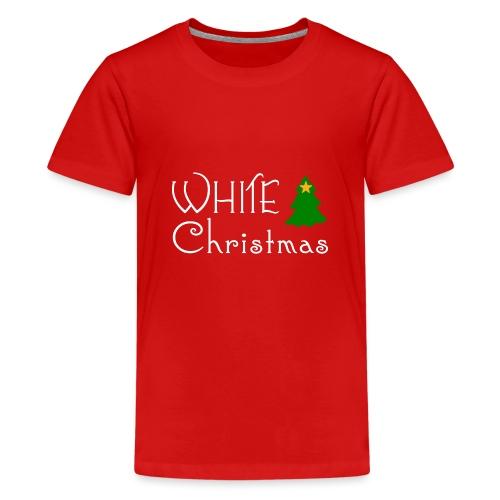 White Christmas - Teenage Premium T-Shirt