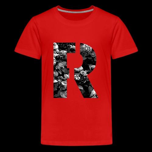 Roses original Black - Teenager Premium T-Shirt