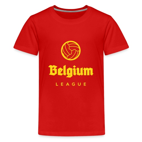 Belgium football league belgië - belgique - T-shirt Premium Ado